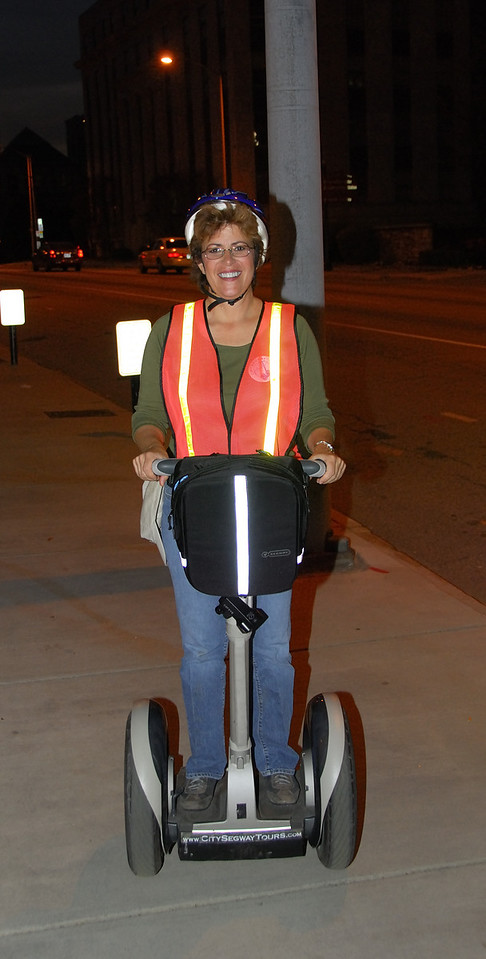 Jody on segway