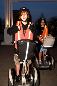 Alec on segway