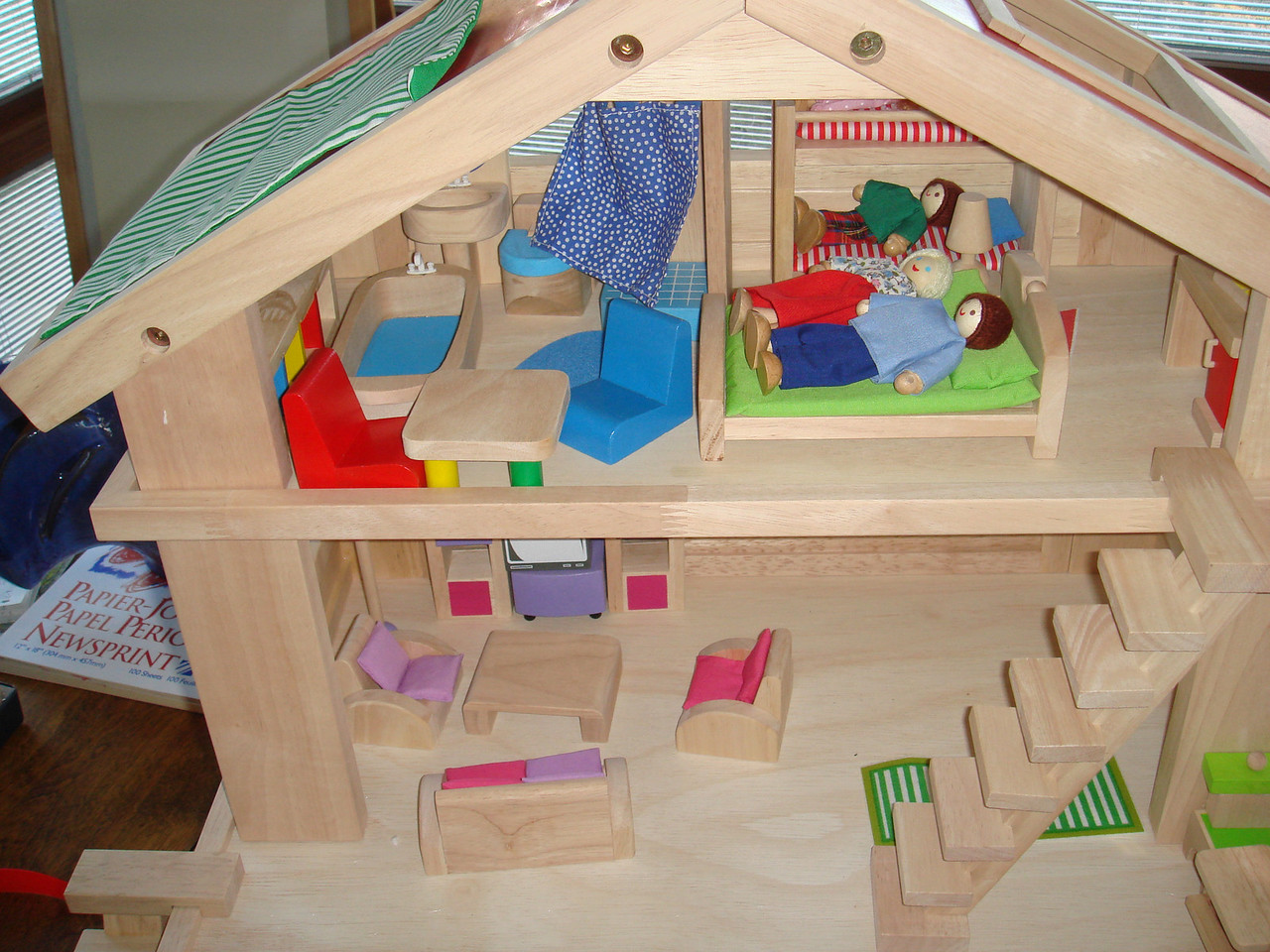 Alice's new doll house