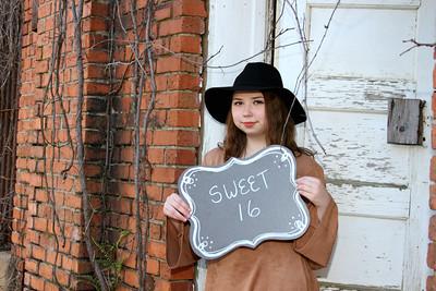 Allison~Sweet 16