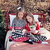 Ally & Ella- Christmas 2014 :