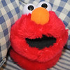 Elmo, the slipper, makes a surprise appearance