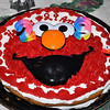Amy's birthday cake gets some extra bling...29 and an Elmo ring for good measure!