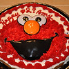 "Amy favorite cake is cookie cake...Elmo was a consistant theme of the weekend.  When Wes saw his favorite TV character he yelled out:  ""Woweeeee!""  Priceless"