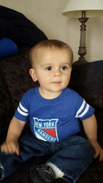 Thank you Brian and Jen for Rangers shirt.