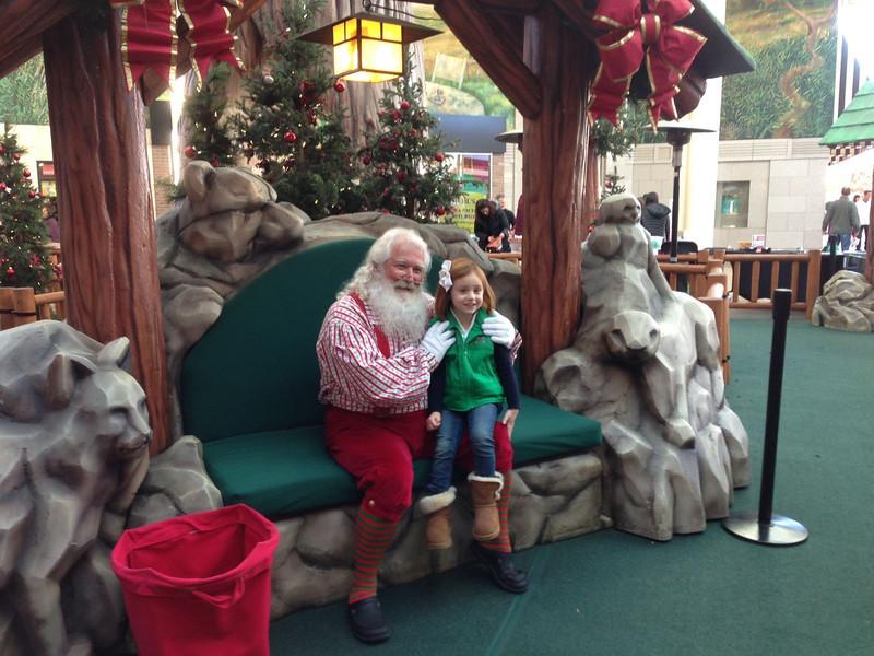 Santa, Stanford Mall, 2011
