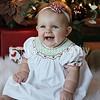 Annie- 9 months & Christmas :