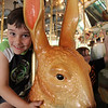 David LOVED that bunny!