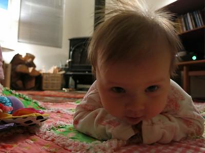 April 2014. Rowan 4.7 years & Caroline 3 months