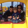 After breakfast, we made a trip to Southwind Park to play.  Chase was all over the play structure!