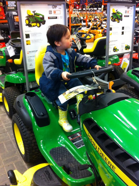 The tractor-driving age is lower in Missouri.