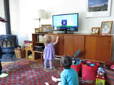 April 2015- Rowan 5 & Caroline 15 months