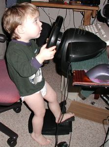 Charles first driving experience