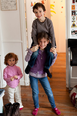 Arthur, Agathe & Chiara janv 2010
