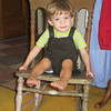 We made a trip to Peoria on Saturday to see Nana.  Chase had fun rocking in her old chairs.