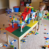 This was a really big one Kenny built and it actually lasted more than 24 hours before Chase destroyed it!