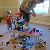 Another Lego building Kenny built for Chase's cars.