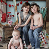 Austin, Cashe, & Hayze- Valentine Mini 2014 :