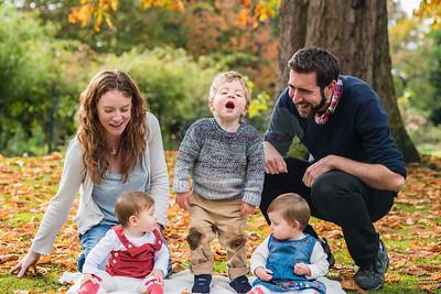 Autumn family mini session
