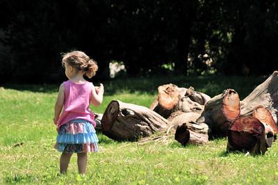 Ava at Tyler Arboretum