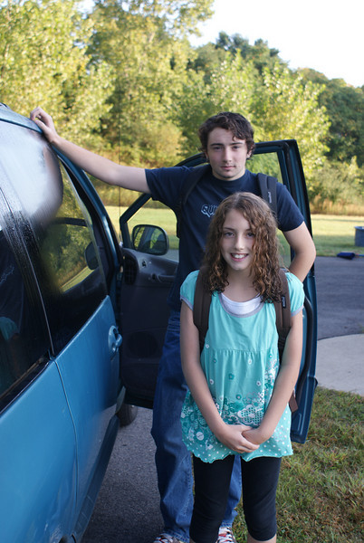 Josh and Bea Start a new school year!