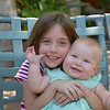 The happy children in this picture is the result of great parents. I enjoyed watching this special moment between sisters.