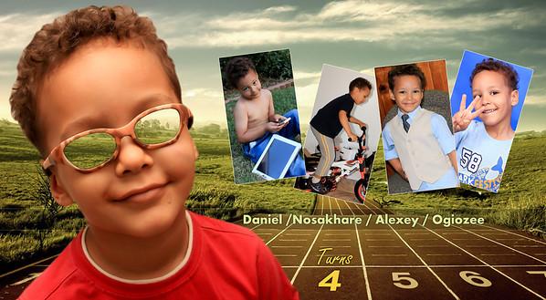 Daniel at 4