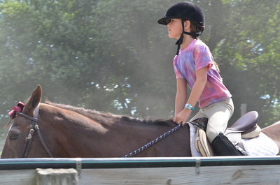 Bella 2013 summer camp riding