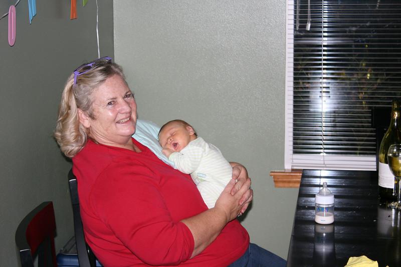 Grandma Susan and Ben.