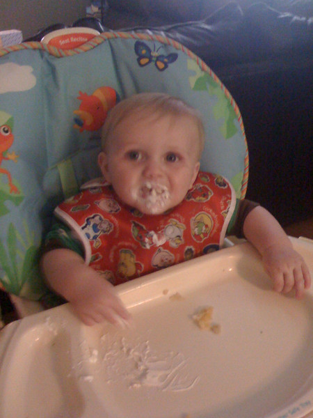 First taste of sour cream