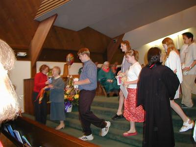 Ben's Baptism, June 2000