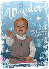Christmas Card 1 image blue