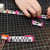 Making music synthesizers in the STEAM Center Maker Space at Boys & Girls Club of Greater Billerica. (SUN/Julia Malakie)