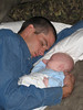Daddy & Me Sleeping