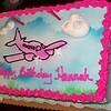 An airplane cake!!