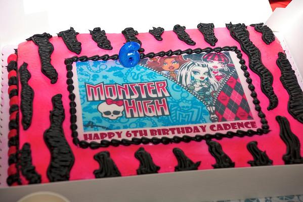 Cady's Birthday May 2012