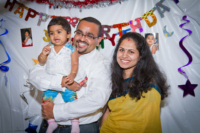 Sahithya's 1st Birthday