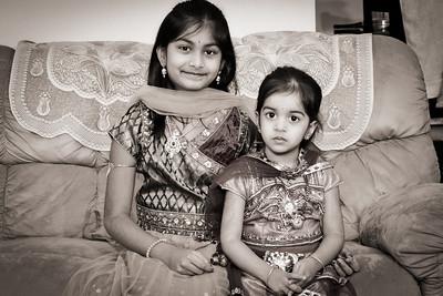 Snigdha & Srinika