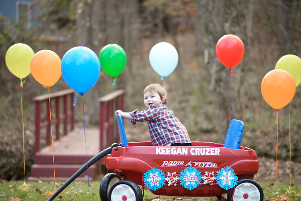 Keegan is 1!