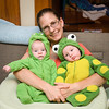 First Halloween: Ansel the Alligator & Cormac the Frog