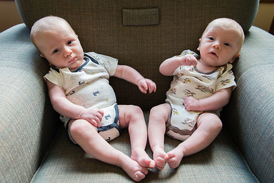 Boys at Two Months