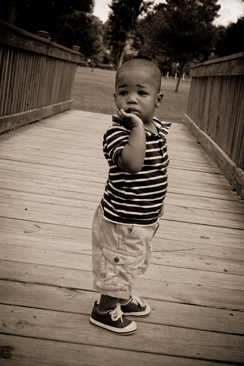 Brandon One Year Pictures