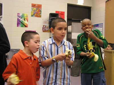 Banana Eating Contest — Boys Rule!!!