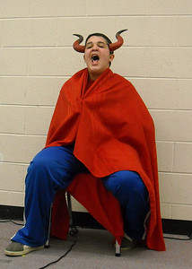 Devil calls for his general during the skit: Don't let Jesus come out of the grave.