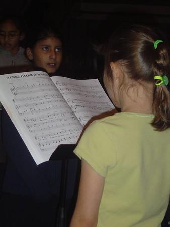 Christmas 2004 Rehearsal