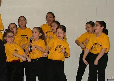 Jan 2007 Children's Choir at Kidz Church