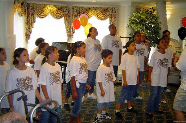 July 2006 Chamber Choir Florida Mission Trip