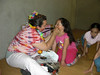 A.D. Lucy did face painting