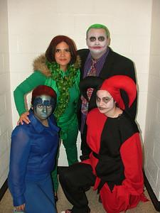 Poison Ivy Joker Mystique Harley Quinn