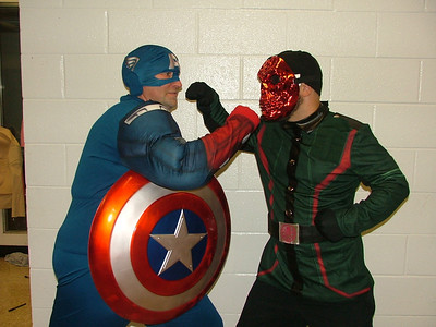 Capitain America and Red Skull
